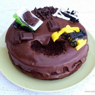 How To Decorate A Digger Cake