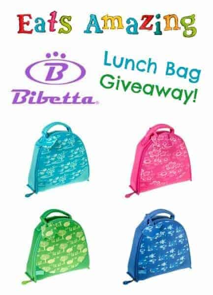 Bibetta Lunch Bags review and giveaway - part of back to school week from Eats Amazing UK - fun healthy food for kids