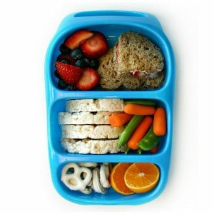 goodbyn bynto lunch box blue eats amazing. Black Bedroom Furniture Sets. Home Design Ideas