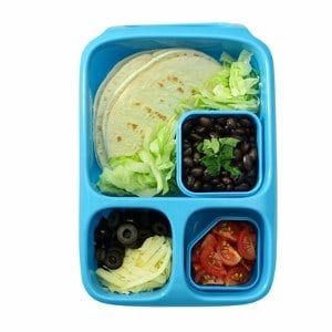 goodbyn hero lunch box blue eats amazing. Black Bedroom Furniture Sets. Home Design Ideas