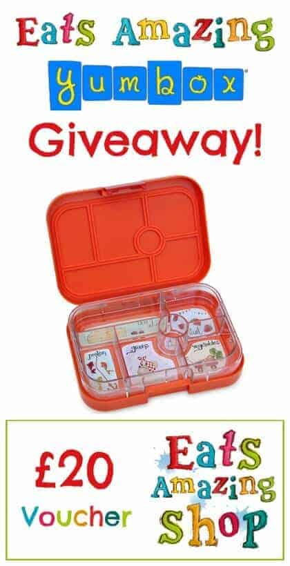 Fantastic Back to School Giveaway from Eats Amazing UK - with a Yumbox bento box and voucher for the Eats Amazing Bento Shop