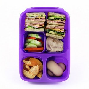 goodbyn hero lunch box purple eats amazing. Black Bedroom Furniture Sets. Home Design Ideas