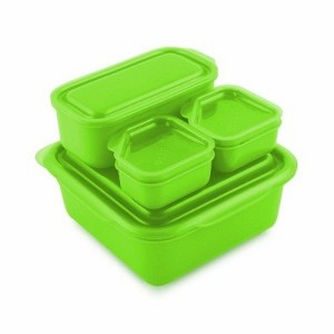 goodbyn portions on the go lunch box set green eats. Black Bedroom Furniture Sets. Home Design Ideas