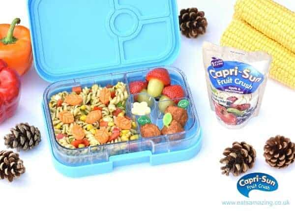 How to make a cute autumn bento lunch for kids from Eats Amazing UK