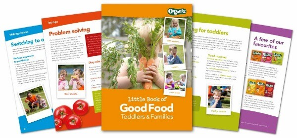 Organix Little Book of Good Food - great ideas and advice for feeding toddlers and babies
