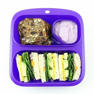 goodbyn small meal lunch box purple eats amazing. Black Bedroom Furniture Sets. Home Design Ideas
