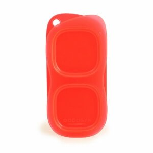 Red Goodbyn Snacks from the Eats Amazing Bento UK Shop - BPA free snack container - snack pot for kids