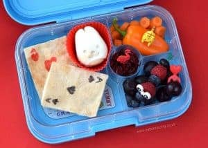 Alice in Wonderland Book Bento Lunch