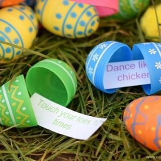 Fun Energy Burning Easter Egg Hunt