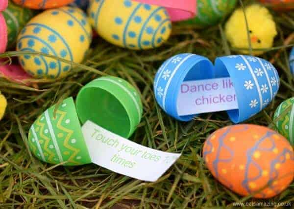 Fun Energy Burning Easter Egg Hunt Eats Amazing