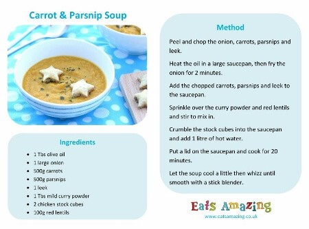 Easy Carrot and Parsnip Soup Recipe