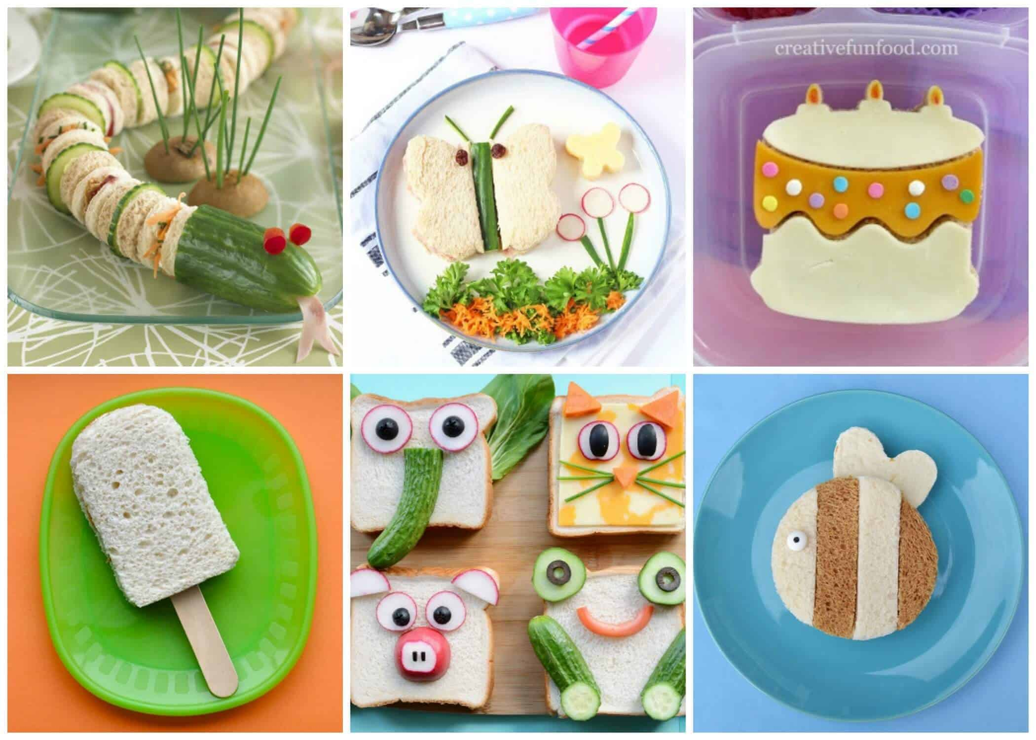 35 fun sandwiches for kids eats amazing for Cool food ideas for kids