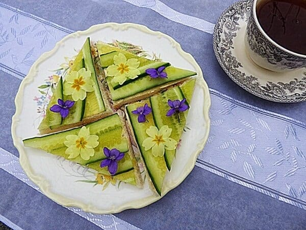 Beautiful Cucumber Sandwiches from Chez Maximka