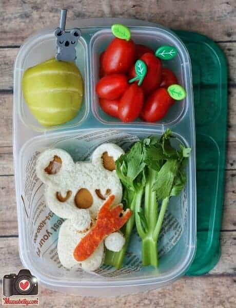 CuteZCute Koala Lunch from Mamabellys Lunches with Love - Fun Kids Bento