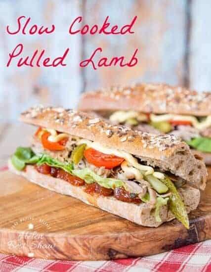 Delicious Pulled Lamb Baguette Recipe from Fuss Free Flavours