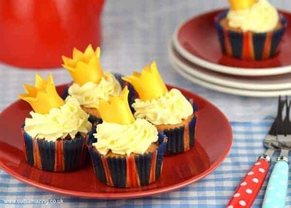 Strawberries Cream Crown Cupcakes Recipe