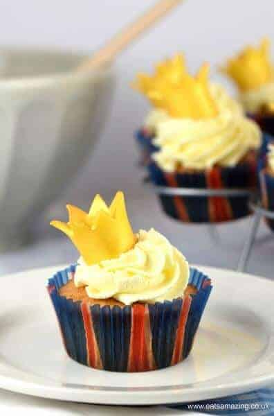 How to make easy crown cupcakes for a fun royal street party