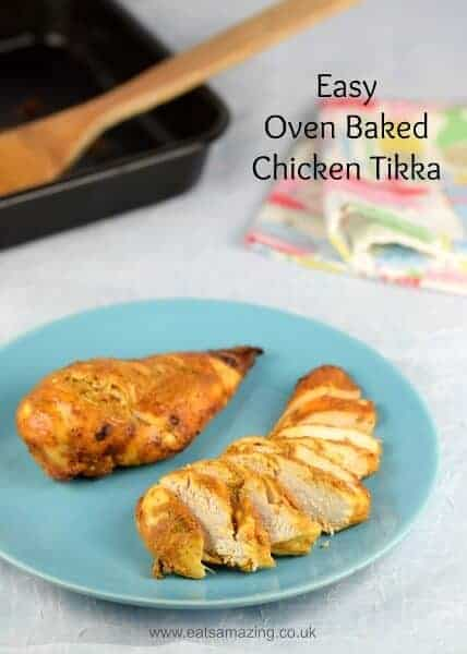 make really easy chicken tikka baked in the oven - delicious healthy ...