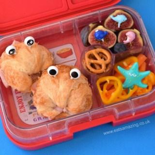 Mini Croissant Crabs Bento Lunch