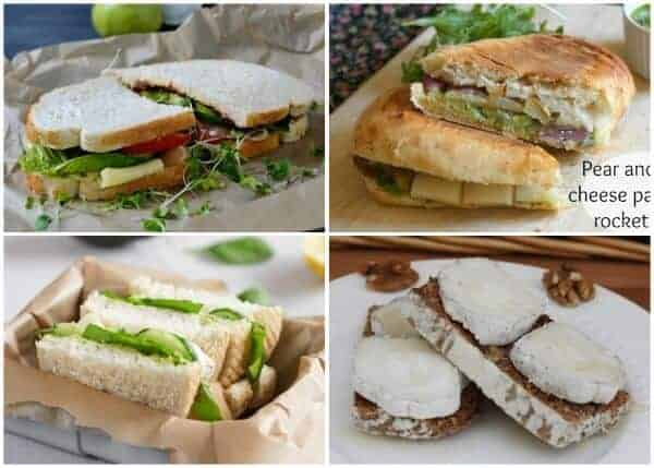 Over 140 Sandwich Filling Ideas to keeo packed lunches interesting 3