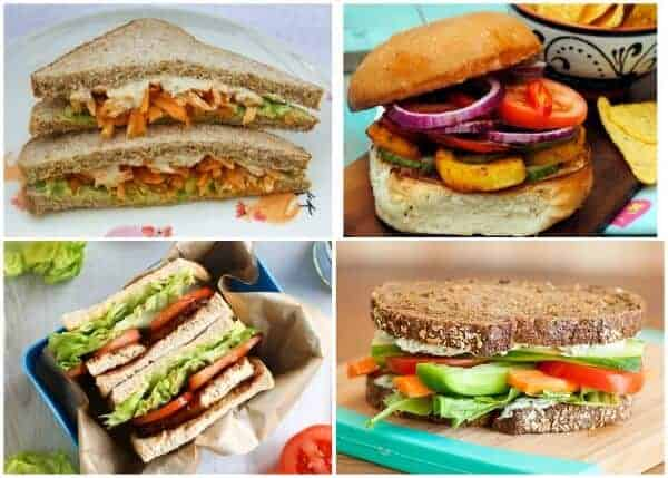 Over 140 Sandwich Filling Ideas to keeo packed lunches interesting 4