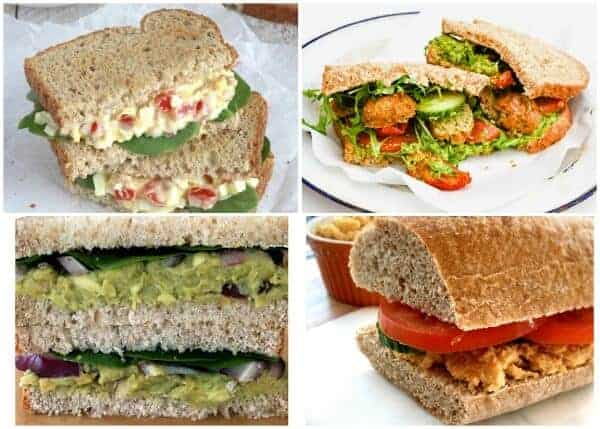 Over 140 Sandwich Filling Ideas to keeo packed lunches interesting 5
