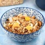 Eats Amazing on Instagram - Easy Healthy Mango Pina Colada Granola Recipe