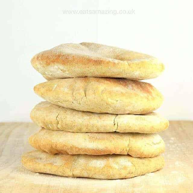 Eats Amazing on Instagram - Homemade Pitta Breads Recipe
