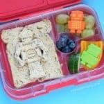 Robot Sandwich Packed Lunch Idea