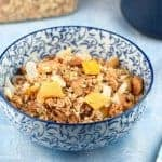 Mango Pina Colada Healthy Granola Recipe