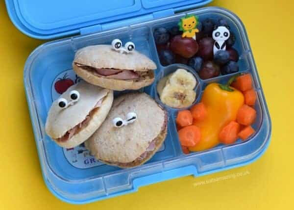 a week of fun monster packed lunches eats amazing. Black Bedroom Furniture Sets. Home Design Ideas