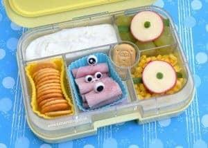 Easy Minion Yumbox Lunch Idea