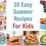 10 Easy Recipes to Cook With Kids This Summer