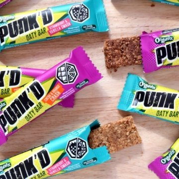 New Organix Punkd Bars for Kids - Review from Eats Amazing UK