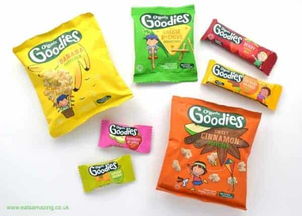 Review of the new no-junk healthy toddler snack range from Organix Foods - Eats Amazing UK