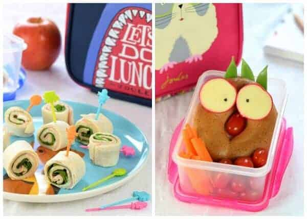 8 fun back to school food ideas for kids - healthy ideas that kids will love from Eats Amazing UK