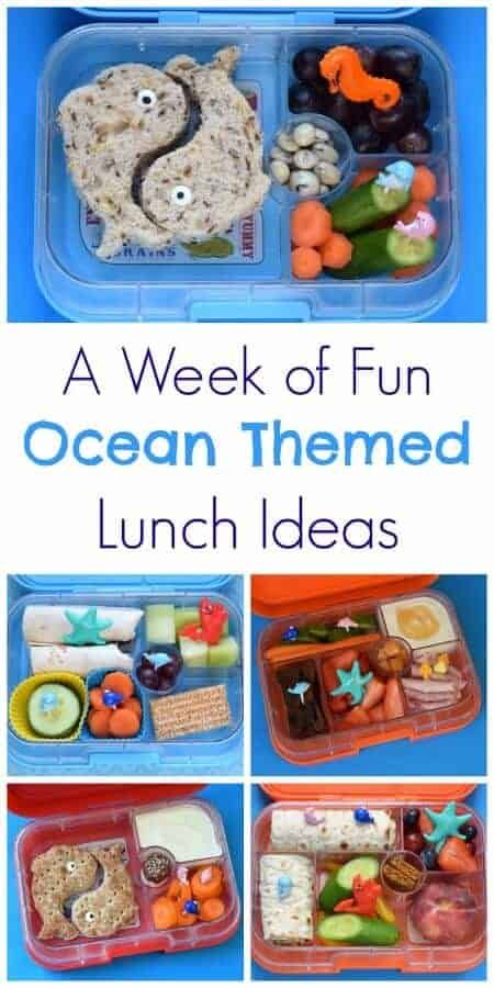a week of fun ocean themed lunches eats amazing. Black Bedroom Furniture Sets. Home Design Ideas