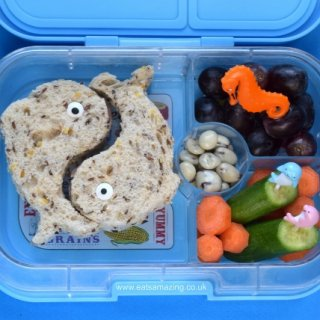 A Week of Fun Ocean Themed Lunches