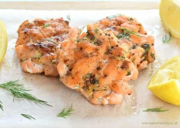 How to make salmon fishcakes - super easy healthy recipe - Eats Amazing UK