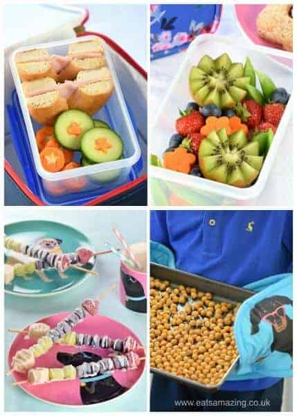 My top back to school fun food ideas for kids - a guest post by Eats Amazing UK for the Joules Blog