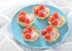 Chocolate Berry Wrap Tarts Recipe