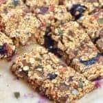 Super healthy granola bar recipe - sugar free dairy free and nut free - great for refuelling the whole family
