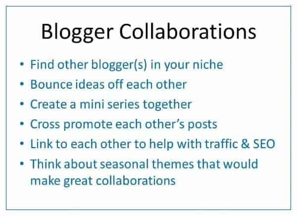Finding inspiration for creative seasonal blog content all the year around - collaborating with other bloggers - Eats Amazing UK
