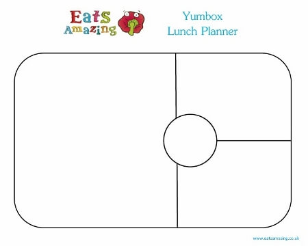 Free Printable Yumbox Panino Single Lunch Planner Horizontal from Eats Amazing UK