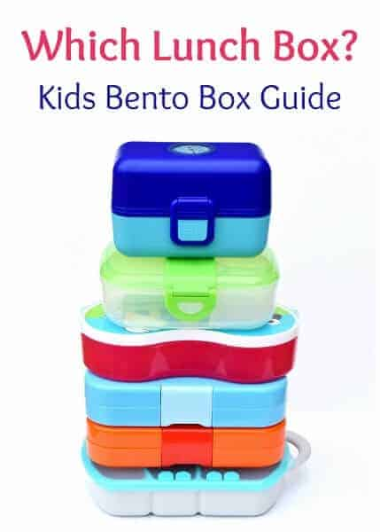 How to choose a bento box for kids packed lunches - recommendations and reviews from a real mum - UK lunch box guide