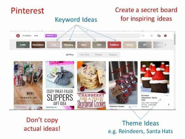 How to use Pinterest to inspire creative seasonal blog content all the year around - top blogging tips from Eats Amazing UK