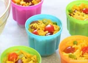Lunch Box Rice Salad Pots Recipe