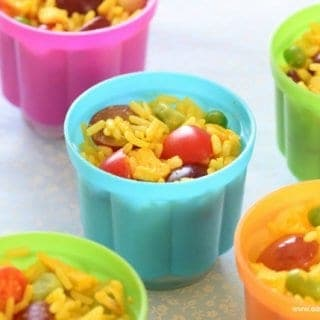 Lunch Box Rice Salad Pots Recipe