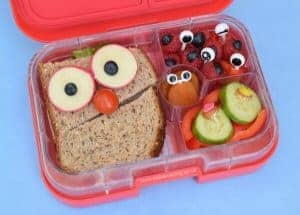 A Week of Easy Funny Face Lunches