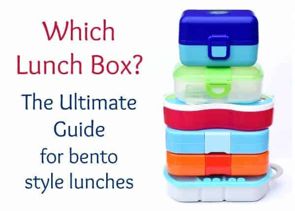 UK Bento Box Guide - how to choose a lunch box for bento style lunches - Eats Amazing UK